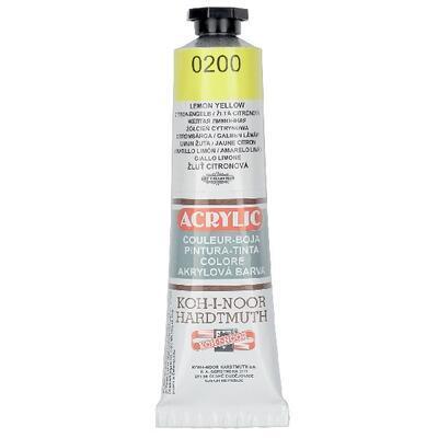 KOH-I-NOOR Akrylová barva Acrylic 40 ml č.0200 - žluť citrónová
