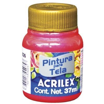 Acrilex Barva na textil 37ml - metalická růžová 537 - 1