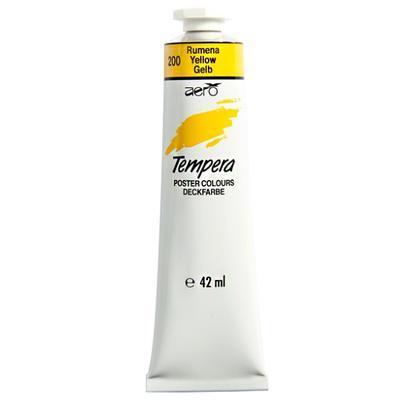 AERO Tempera 42 ml / žlutá