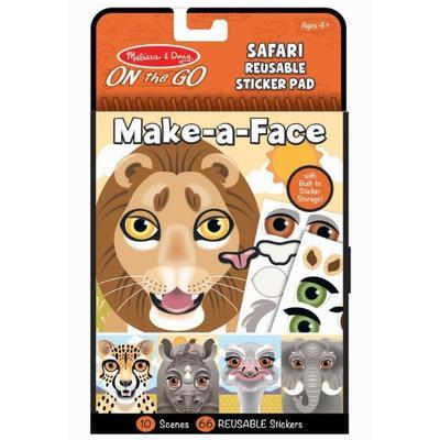 Vytvoř obličej - Safari - 1