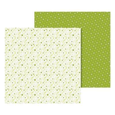 List Origami 65g/m2, 15x15cm - zelený, 40ks - 1