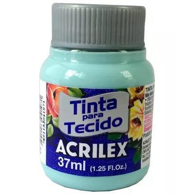 Acrilex Barva na textil 37ml - ledová zelená 552 - 1
