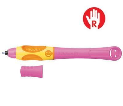 Pelikan Inkoustový roller Griffix 3 pro praváky - malinový/oranžový - 1