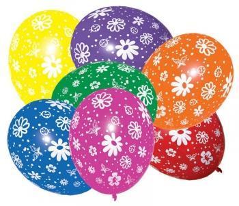 Balónek - Kytky 7 ks