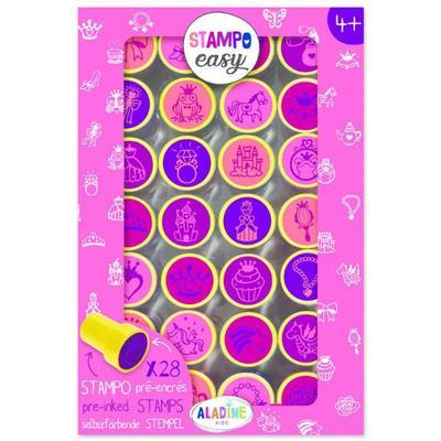 Stampo Easy Samonamáčecí razítka, Princezny - 1