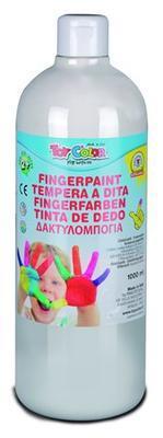 ToyColor Prstová barva 1000 ml - bílá supervypratelná !