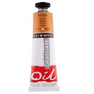 Daler & Rowney Graduate Oil 200 ml - rich gold 707 - 1