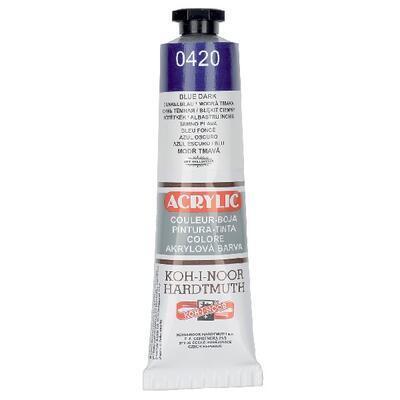 KOH-I-NOOR Akrylová barva Acrylic 40 ml č.0420 - modř tmavá