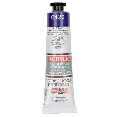 Akrylová barva Acrylic 40 ml č.0420 - modř tmavá