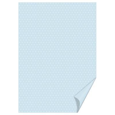 Happy paper A4, 200g/m2 - puntíkatý světle modrý