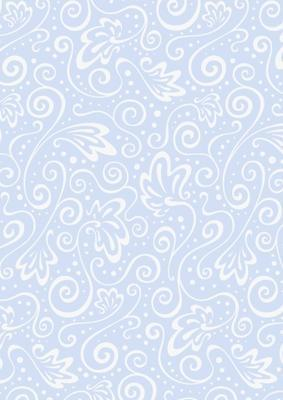 Transparentní papír Milano A4, 115 g/m2 - Modrý vzor
