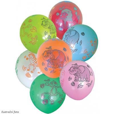 Balónek - Safari 7 ks