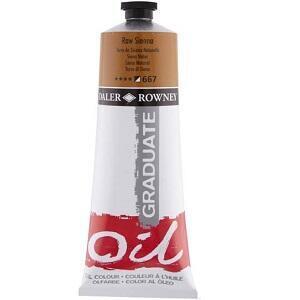 Daler & Rowney Graduate Oil 200 ml - raw sienna 667 - 1