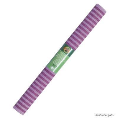 Koh-i-noor Krepový papír 9755/62 - pruhovaný fialový