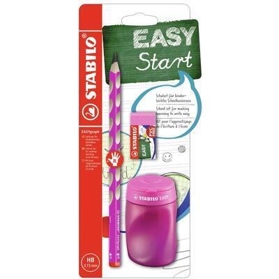 STABILO EASYgraph Školní set pro praváky - růžový - 1