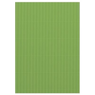 Karton vlnitý 50x70 cm 300g/m2 - světle zelený