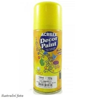 Acrilex Akrylová barva spray 150ml - žlutá