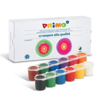 Temperové barvy 12 x 25 ml