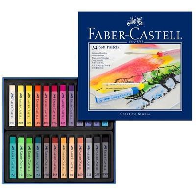 Faber-Castell QUALITY  Měkké pastely - 24 ks - 1
