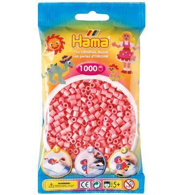 Hama MIDI Zažehlovací korálky  1000 ks - růžové