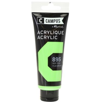 Akrylová barva Raphael 895 - Fluo green - Fluo zelená 100 ml
