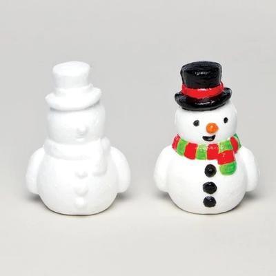 Polystyrenový sněhulák - 9 cm
