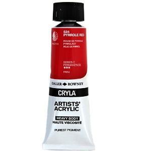 Daler & Rowney Cryla C 75 ml - pyrrole red 524 - 1