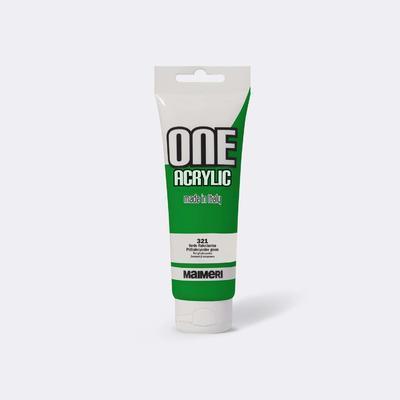 Maimeri Akrylová barva One 120ml - phtalocyan zelená 321