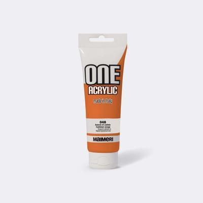 Maimeri Akrylová barva One 120ml - kadmiová oranžová 048