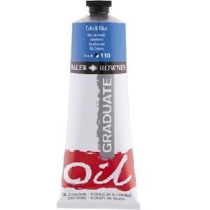 Daler & Rowney Graduate Oil 38ml - cobalt blue 110 - 1