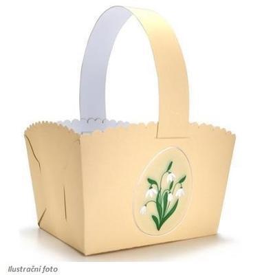 Výřez - Velikonoční košíček maxi, 1 ks - 1