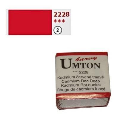 Akvarelová barva 2,6ml - Kadmium červené tmavé - 1
