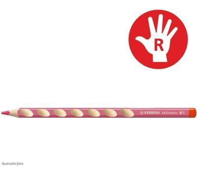 Stabilo EASYcolors 332/350 Pastelka pro praváky - růžová  - 1