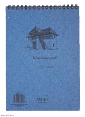 SMLT Blok WB Akvarel A4, 280 g/m2, 35 listů