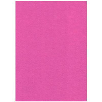 Filc 23 x 30 cm - růžový fluo