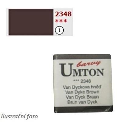 Akvarelová barva 2,6ml - Van Dyckova hněď/ 1 - 1