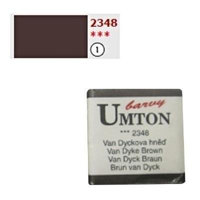 Akvarelová barva 2,6ml - Van Dyckova hněď - 1