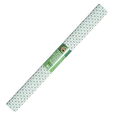 Koh-i-noor Krepový papír 9755/57 - tečkovaný bílo zelený
