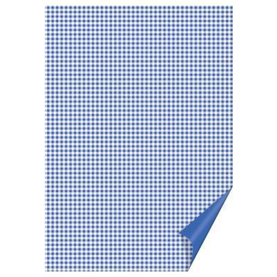Happy Paper A4, 200 g/m2 - čtverečkovaný modrý