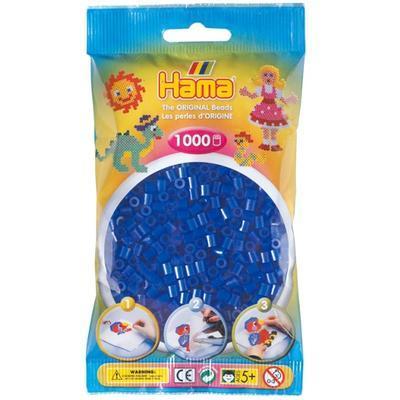 Hama MIDI Zažehlovací korálky  1000 ks - neonově modré