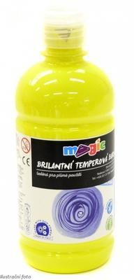 Temperová barva Magic 500 ml - citronově žlutá