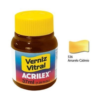 Vitrážová barva ACRILEX 37ml - Cadmium Yellow - 1