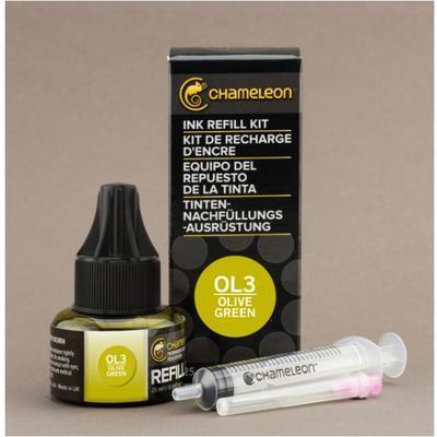 Chameleon náplň 25 ml - Olive Green - OL3