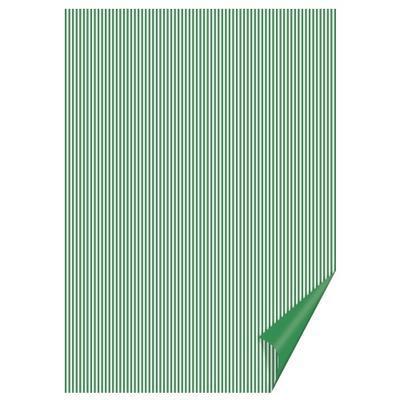 Happy Paper A4, 200 g/m2 - pruhovaný zelený