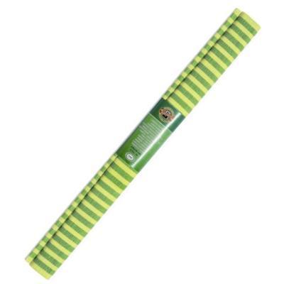 Koh-i-noor Krepový papír 9755/70 - pruhovaný žluto zelený