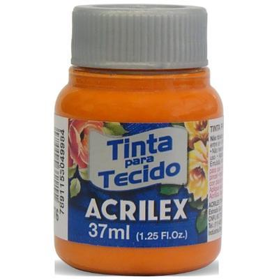 Acrilex Barva na textil 37ml - mrkvová 576 - 1