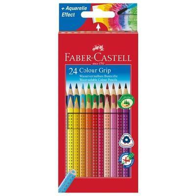 Faber-Castell Pastelky Colour Grip 2001 - 24 ks i pro L - 1