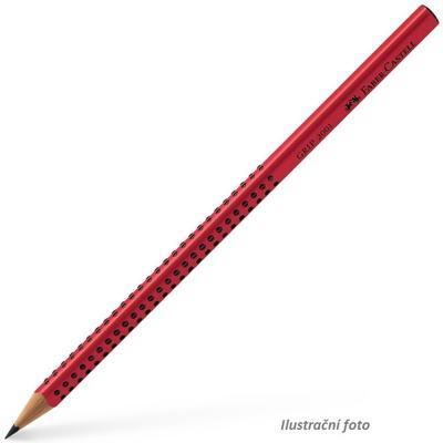 Faber-Castell Grafitová tužka GRIP 2001/ 2=B, červená 517021