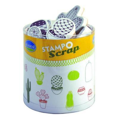 StampoScrap - Kaktusy - 1