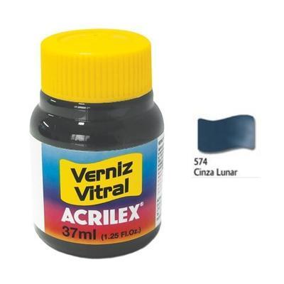 Vitrážová barva ACRILEX 37ml - Moonlight Grey - 1